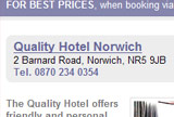 Book a Hotel in Norwich